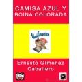 CAMISA AZUL Y BOINA COLORADA