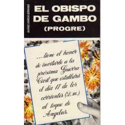EL OBISPO DE GAMBO (PROGRE)