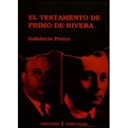EL TESTAMENTO DE PRIMO DE RIVERA