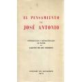 EL PENSAMIENTO DE JOSÉ ANTONIO