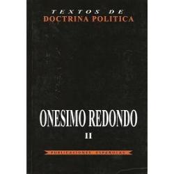 ONÉSIMO REDONDO. TEXTOS DE DOCTRINA POLÍTICA