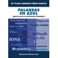 PALABRAS EN AZUL